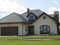 DOM.PL™ - Projekt domu HR Lawenda BP 2-garaże CE - DOM TZ9-48 - gotowy koszt budowy Home Fashion, Mansions, House Styles, Blond, Houses, Home Decor, Build Your House, Homes, Decoration Home