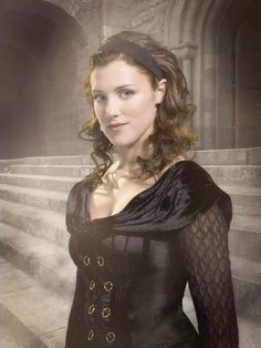 Lucy Griffiths as Maid Marian BBC's Robin Hood (this is actually one of the only times I remember her wearing black)