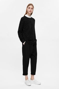 An everyday casual style, this jumper is made from wool with an all-over…
