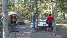 Indian Creek Campground. Photo by NPS