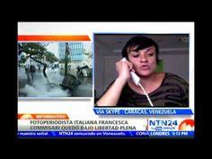 Reportera gráfica italiana relata en NTN24 cómo fue detenida por la GNB ...
