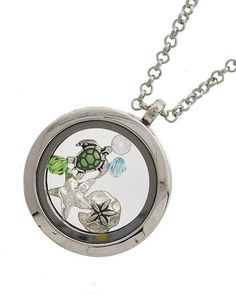 """Assorted Sea Life Locket with 24""""L Chain"""