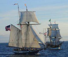 Tall Ships by 30245.deviantart.com