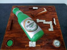 dominican domino cakes pictures | ... light Beer - by hechoamano @ CakesDecor.com - cake decorating website