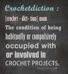 Are you a crochet addict? ❥ 4U // hf
