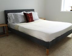 Beginner's Guide to Upholstering a Bed Chris Loves Julia, Diy Home Decor Projects, Decor Ideas, Bedroom Styles, Interior Design Tips, Bed Furniture, Stores, Decoration, Master Bedroom