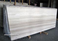 White Wooden Marble Slabs, White Wood Grain Marble, White Wood Vein Marble Slabs from China - Stonecontact.Com