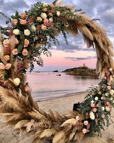 Boho wedding on the beach – Wedding Wedding Trends, Wedding Designs, Boho Wedding, Floral Wedding, Rustic Wedding, Wedding Ideas, Destination Wedding, Purple Wedding, Spring Wedding