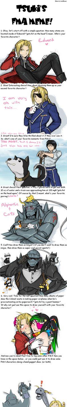 Fullmetal Alchemist Art Meme by Sparkleee-Sprinkle on DeviantArt