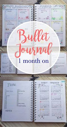 What's in my bullet journal 1 month on, what's staying and what's going..