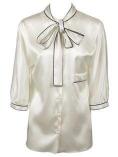 DOLCE & GABBANA Dolce & Gabbana Ribbed Collar Shirt. #dolcegabbana #cloth #shirts