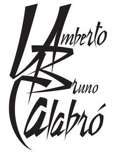 Logo Design for Umberto Bruno Calabro. Local New York artist.