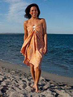 An understated yet alluring swim cover up for the beach. Swim Cover, Cover Up, Belly Dancers, What To Wear, Strapless Dress, One Shoulder, Sarongs, Google Search, Beautiful