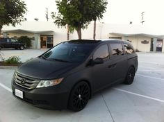Odyssey - Not Your Average Minivan: Custom Honda Odyssey Builds Honda Odyssey, Odyssey Van, Honda S, Honda Civic, Honda Pilot, Minivan, Vanz, Chrysler Pacifica, Cool Vans