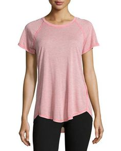 Nueva Short-Sleeve Training T-Shirt, Calypso Coral