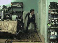 He got moves