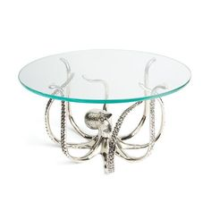 """A stunning way to impress your friends - serve all kinds of appetizers and special treats upon this large 17"""" diameter x 9.75"""" tall eight legged wonder, the Kracken Display stand!"""