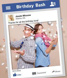 Resultado de imagen para party photo prop frame