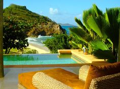 """World's Best Beach Hotels: Palm Island, Grenadines """"You are completely disconnected from the world and on a little island heaven,"""" at this resort in the #Caribbean. 