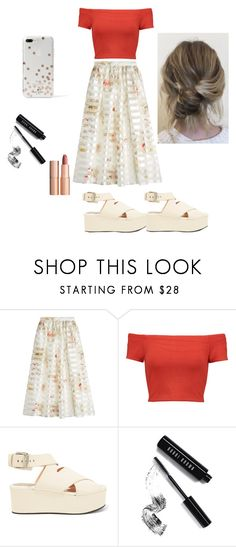 """""""Untitled #99"""" by alinablx ❤ liked on Polyvore featuring Fendi, Alice + Olivia, Alexander Wang, Bobbi Brown Cosmetics, Charlotte Tilbury and Kate Spade"""