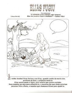 Desenhos para colorir e pintar: Desenhos Bíblicos Antigo Testamento