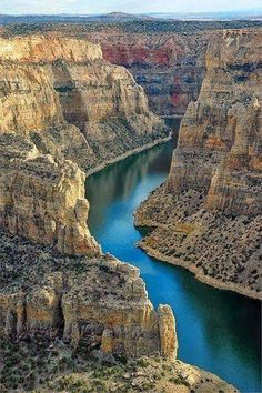Bighorn canyon, wyoming, Montana