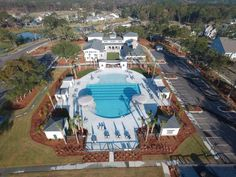 Pool and Clubhouse Amenities - Oyster Point - Daniel Island SC