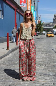 Hippie dayLove these pants just as mch as the other. I think tese might be silk, which might take more maintance getting them ready to wear !!! Not into the different color patterns.... Lokes comfy !!!
