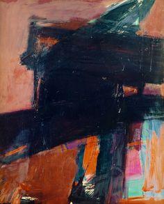 Dahlia by Franz Kline, 1959, oil on canvas