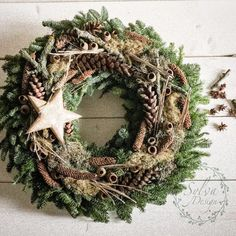 All Details You Need to Know About Home Decoration - Modern Winter Christmas, Christmas Time, Christmas Crafts, Christmas Decorations, Holiday Decor, Xmas Wreaths, Door Wreaths, Hello December Images, Natal Natural