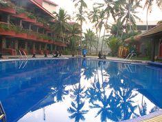 Uday Samudra #Kovalam.  Kovalam is a beach town by the Arabian Sea in Thiruvananthapuram city, Kerala, India, located around 16 km from the city center