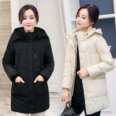 >> Click to Buy << 1PC Fashion 2016 Winter Jacket Women Hooded Coat Parkas For Women Winter  #Affiliate