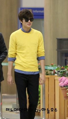 Lee Min Ho - 130419 - airport fashion