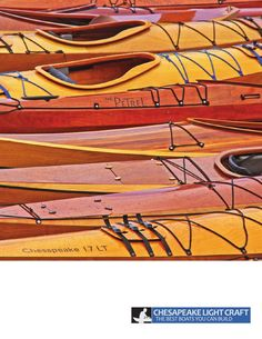 Chesapeake Light Craft Catalog 2014: Wooden Boat Kits & Plans