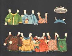 TINY TOTS-FREDDY AND JOYCE PAPER DOLLS 1956 | eBay