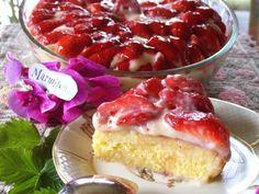 Recette de Tarte aux fraises Bretonne : la Paimpolaise