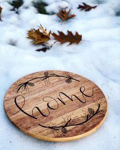Wood Coasters - Set of 2 - Engraved Wood Coasters - Lavender - Today Pin Wood Burning Tips, Wood Burning Crafts, Wood Burning Patterns, Wood Burning Projects, Lazy Susan, Wood Slice Crafts, Wood Crafts, Wood Burn Designs, Diy Wings