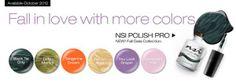 NSI Polish Pro Fall Gala Collection (6 Colors)