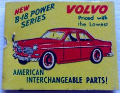 #Volvo Auto Dealership #matchbook - To design & order your business' own logo #matches GoTo: GetMatches.com #phillumeny