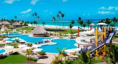 Hard Rock Hotel and Casino Punta Cana, Punta CanaDR Hotel Deals & Vacation Packages Punta Cana All Inclusive, Punta Cana Hotels, All Inclusive Family Resorts, Hotels And Resorts, Best Hotels, Hotel Punta, Hotel Pool, Hard Rock Hotel, Family Friendly Resorts