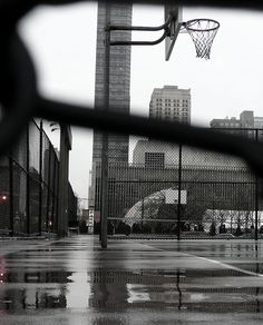 Ball in the rain...I've spent many thoughtful hours here. :)
