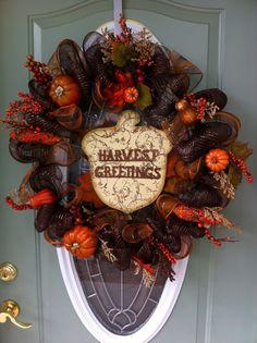 My thanksgiving wreath :)