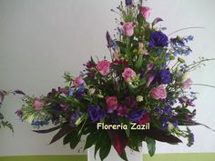 Purple Arrangement #Cancunflowershop #Cancunweddingflowers #Cancunfloraldesign #Floreriazazil #Floreriascancun