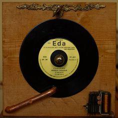 """ Gramophone "" - collage on wood - Artist: Daniel Loagăr Music Instruments, Collage, Nice, Wood, Artist, Collages, Woodwind Instrument, Musical Instruments, Timber Wood"