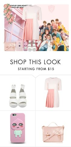 """""""Meeting Seventeen (Requested)"""" by theycallmebeatriz ❤ liked on Polyvore featuring GET LOST, Nasty Gal, Au Jour Le Jour and Topshop"""
