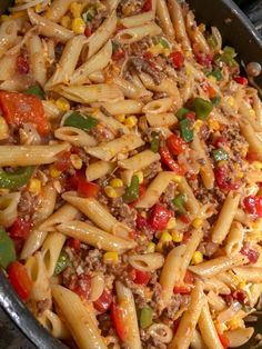 This sloppy joe casserole recipe is the perfect comfort food. This easy to make casserole can be had in only 1 hour. Beef Dishes, Pasta Dishes, Food Dishes, Main Dishes, Crockpot Recipes, Cooking Recipes, Healthy Recipes, Good Recipes, Sloppy Joe Casserole