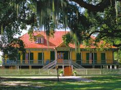 """Laura Plantation - My Most Favorite Plantation!!  So beautiful! A creole plantation run by a woman because Louisiana was then and still is under the Napoleonic Code, in a will the property did not have to go to the first born son but could go to the child who would be the best steward of the land as they say in Louisiana """"thank you Josephine"""""""
