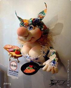 Куклы Шитьё Магнит на холодильник Хватит кушать  Капрон Магниты фото 6