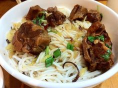 Oxtail Noodles (Dry) @ South China Noodles Delight