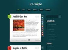 LightBright Theme Review - Elegant Themes